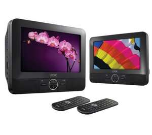 LOGIK L7DUAL11 Dual-Screen Portable DVD Player £64.99 @ Currys