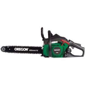 Qualcast - PC40 Chainsaw - 35cc - 16in/40cm  was £149.99 to £119.99 but use Code WEB20 TODAY to get it for £96.00 R + C @ homebase