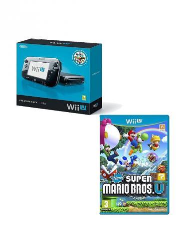 Nintendo Wii U 32GB Console with Nintendo Land & New Super Mario Bros U £265 @ ASDA Direct
