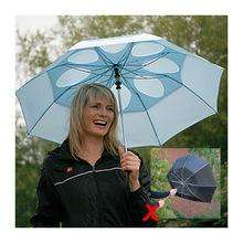 Staydry Windproof Umbrella - buy one, get one FREE £14.99 @ Telegraph