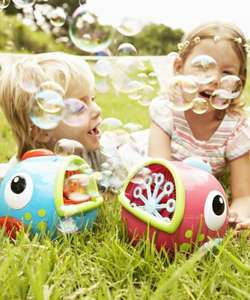 60% OFF Freddy / Flora the Fish Bubble Machine (RRP £15) Get it for £6!! @ Mothercare