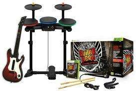 Guitar Hero: Warriors of Rock - Full Band in a Box Bundle(guitar, mic, drums, game)  PS3/360/Wii £35.00 @ Tesco(instore only)