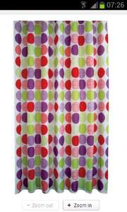 Linen Spot Bright Shower Curtain at Homebase was £11.23 reduced to £1.73 in store can reserve and collect
