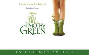 The Odd Life of Timothy Green, Disney, 24 march code Timothy