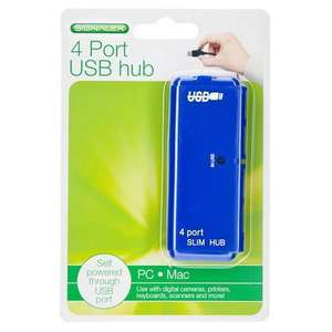 4 Port USB Hub £1 @ Poundland