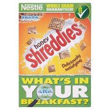 Nestle Honey Shreddies 500g for £1.14 @ Tesco instore and online
