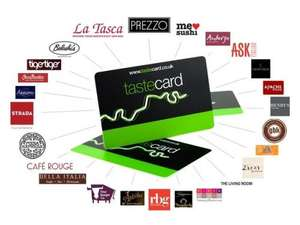 12 month Tastecard  membership + 12 months 2for1 Cinema Club