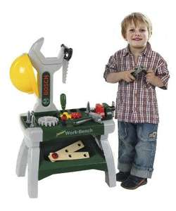 Bosch Junior Work Bench. Down from £25 to £10 with code VXXN on the Mothercare site (selecting collect at store. £10.00