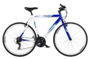 Barracuda Men's Vantos Road Bike - White/Blue (Wheel 700C, Frame 22 Inch) - Amazon £100.27