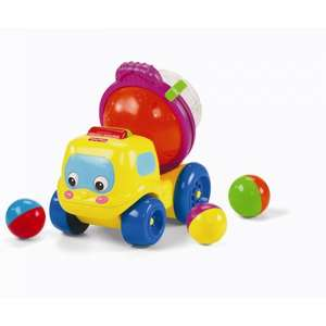 Fisherprice Twist and Spin Cement Truck was £15.00 now £7.50 del to store @ Asda (other baby toys also reduced)