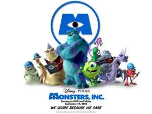 Monsters Inc Blu Ray on disney movie rewards only 550 points(limited time only)