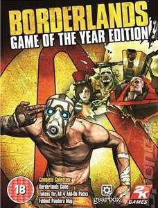 Borderlands 1 GOTY, £3.98 at GreenMan Gaming with code (STEAM, PC)