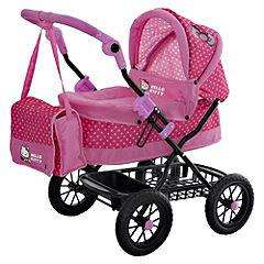 hello kitty coupe pram £17.49 @ sainsburys half price other toys also upto half price