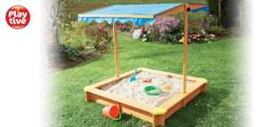 Sandpit with roof/cover £34.99 @ Lidl
