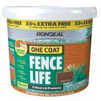 Ronseal One Coat Fencelife 12L (33% extra free) £12 @ B&Q