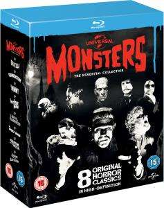 Universal Classic Monsters: The Essential Collection Blu Ray  £24.95 Zavvi