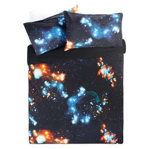 Outer Space King Size Duvet Set £10.37 @ Tesco Direct