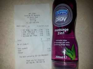 Durex play massage 2/1 lube 99p @ 99p stores! at 99P stores