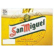 San Miguel Lager - 20 x 275ml bottles for £10 at Tesco