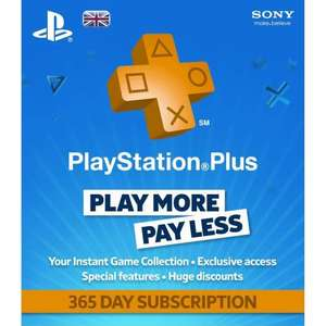 Playstation Plus 1 year £25 @ Asda Instore