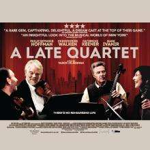 Free Screening A Late Quartet - Sun 31st 10.30 am - Times plus members only