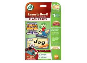 LeapFrog Tag Interactive Talking Words Factory Flash Cards £6.49 @ Amazon