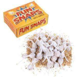500 Fun Snaps Throw Bangers (10 boxes) £1.89 @ Amazon / Home Star Supplies