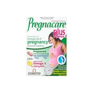 Vitabiotics Pregnacare Plus Omega 3 Dietary Supplement 56 Tablets £8.29 @ Amazon