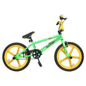 Redemption Mag Wheel Boys BMX Bike - Neon Green/Yellow, 20 inch rrp £234.99 now only £58.85 Free Del @ Amazon