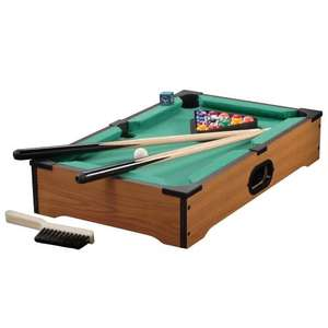 Table top pool table - amazon - George and Freddie £10