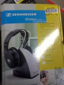 Sennheiser Wireless Headphones RS 120 is available for £21.78 at Tesco Romford Extra in Hornchurch.