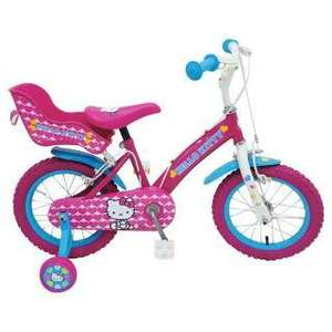 Hello Kitty 12 Inch Bike - Girls'. available for £45 at Tesco Stores instore