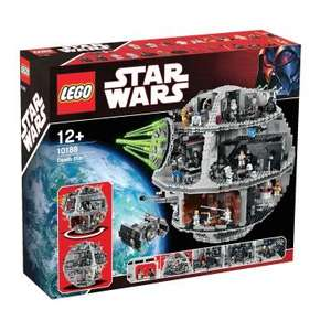LEGO Star Wars Death Star 10188  £219.99 delivered  @ Smyths using discount code