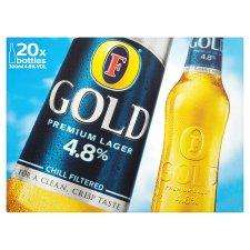 20 x Fosters Gold/Carlsberg for £10 @ Morrisons
