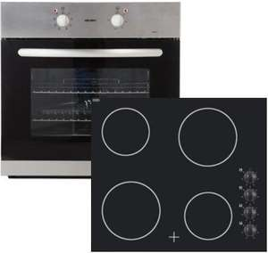 Integrated Fan Oven and Ceramic Hob Package for £178.93 Delivered (RRP £318.93) @ Argos