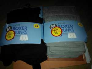 mens 3pack of boxers only 98p in morrisons