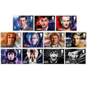 Doctor Who stamp sets from £1.80 @ Royal Mail