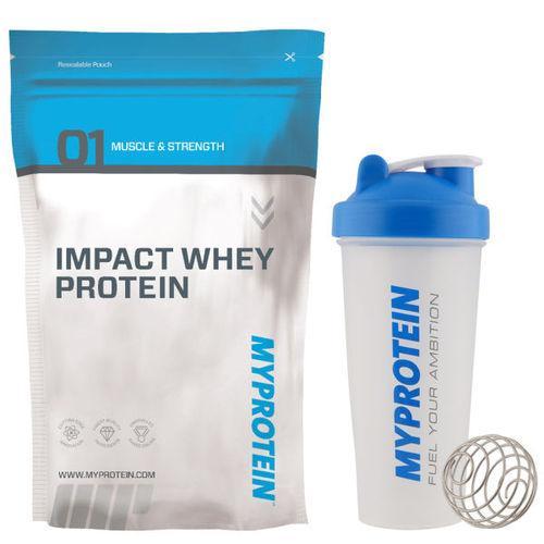 Myprotein: Impact Whey Protein - Vanilla - 2.5kg - Free Blender Bottle £16.48 @ Ebay