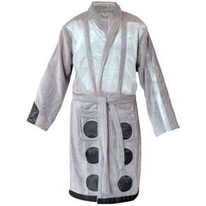 Doctor who Bathrobes save £20 now only £29.99 with Free Del from Iwoot