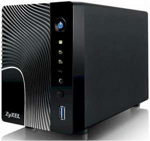 ZyXEL NSA325 2-Bay Power Plus NAS Appliance Diskless for £74.99 @eBuyer (plus TCB or quidco)