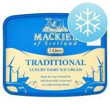 MACKIES ICE CREAM 2L TUB [100% EXTRA FREE TUB] £2.00@TESCO [INSTORE]
