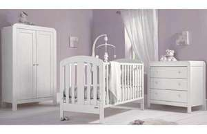 Mamas & Papas Vico 3 Piece Nursery Furniture Set - White Delivered £348.94 @ Homebase