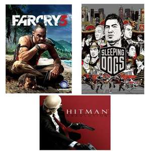 Farcry 3 , Sleeping Dogs and Hitman Absolution pack PC Digital Download codes from millenium-computers (eBay)