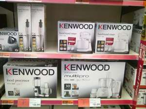 KENWOOD Food Processors and Mixers 60% off from £11.99 (see post for details, e.g. Food Processor for £35.99)) at Sainsbury's