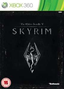 Skyrim - XBOX360 - Preowned and Free Delivery GAME online - £14