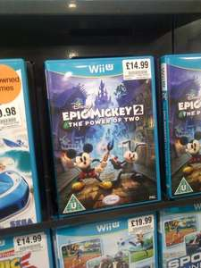 Epic Mickey 2: The power of two for Wii U £14.99 @ HMV instore