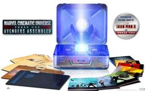 Marvel Cinematic Universe: Phase One - Avengers Assembled (10-Disc Limited Edition Six-Movie Collector's Set) [Blu-ray] (2012 @ Amazon US