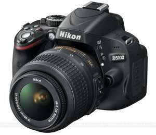 Nikon D5100 Digital SLR camera with 18-55mm VR Lens Kit (16.2MP) 3 inch £399.95 @ Amazon -  £359.95 after Nikon cashback