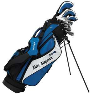 Set of Golf Clubs - Ben Sayers Men's M2i Package Set Stand Bag - (Blue, Regular, Steel, Right Hand) £62.72 @ Amazon