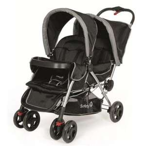 Safety 1st Duodeal Tandem Pushchair in Black Sky £95.17 @ Bambino Direct